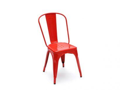 A Chair Painted - Piment Brilliant