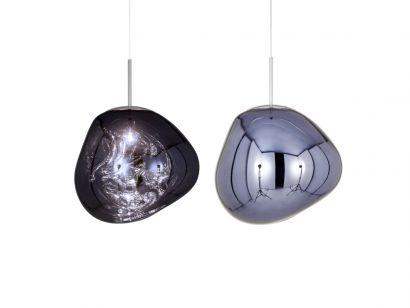 Melt Pendant Lamp-Smoke