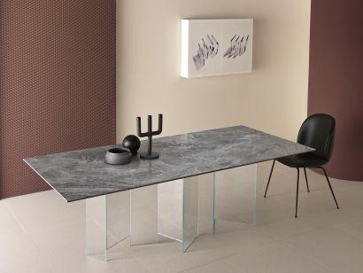 Metropolis Ceramic Table