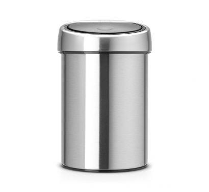 Touch Bin - Raccoglitore Rifiuti 3 litri - Inox Satinato