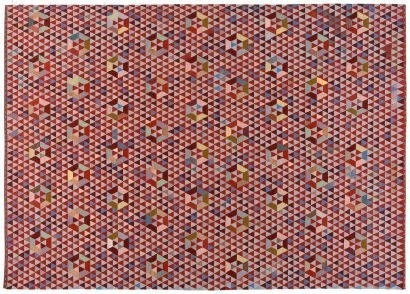 Trianglehex Sweet Pink Tapis