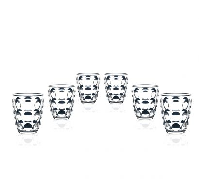 Bolle Tumbler set of 6 clear