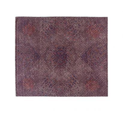 Meteo Tumulte Rug/Purple 403x301