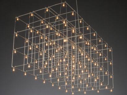 Universe Square Triple Suspension Lamp Quasar