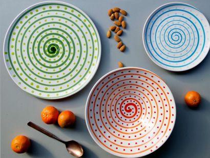DEC6- Set Of 3 Plates