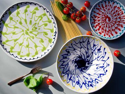DEC4- Set Of 3 Plates