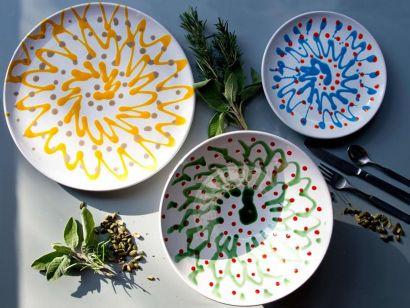 DEC5- Set Of 3 Plates