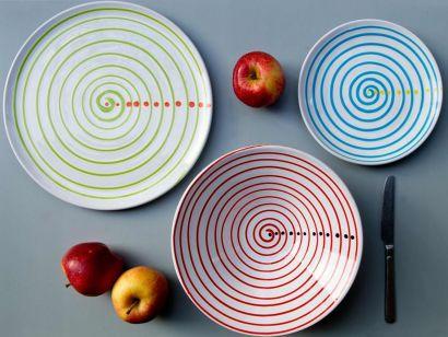 DEC1- Set Of 3 Plates