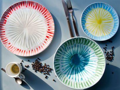 DEC3- Set Of 3 Plates