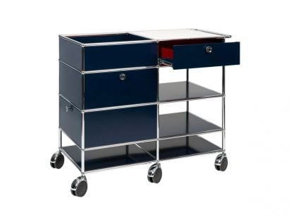 Mix It Blue Bar Cart