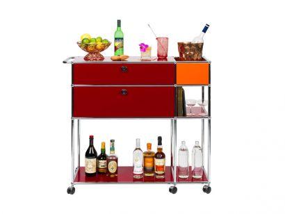 Mix It Red Bar Cart