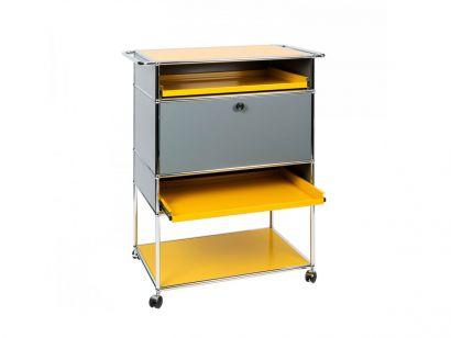 Mix It Yellow Bar Cart