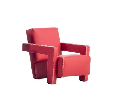 Utrecht Baby - Big Bang 818 Red Eco-leather