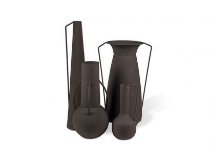 Vases Roman Black Pols Potten