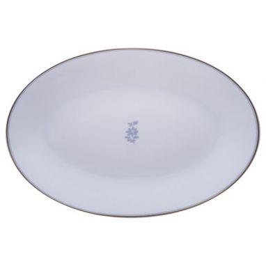 Feston e Cadena Azzurro Plat  Ovale 45 cm x 31,5 cm