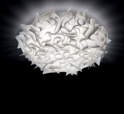 Veli Medium Ceiling / Wall Lamp Opal White