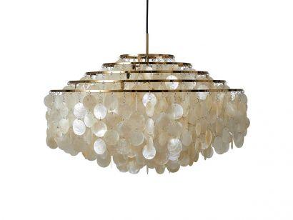 Fun 10DM Brass Suspension Lamp Verpan