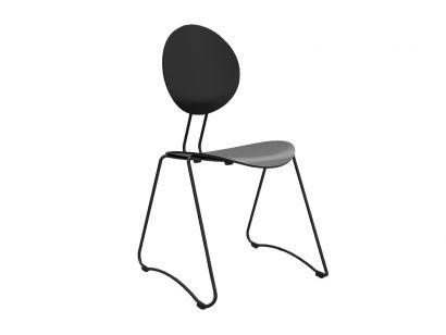 flex stackable chair verpan
