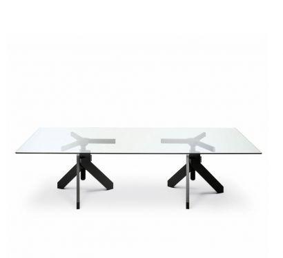 Vidun - Table Rectangular height adjustable