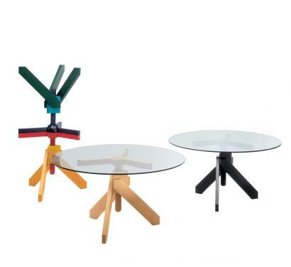 Vidun - Table Round height adjustable