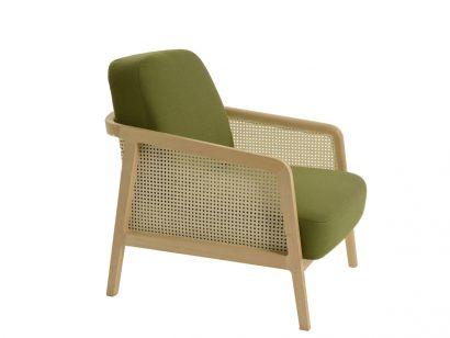Vienna Lounge Beech Wood Armchair