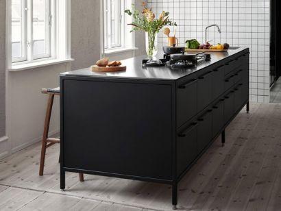 Vipp Kitchen - Island w. Seating Module