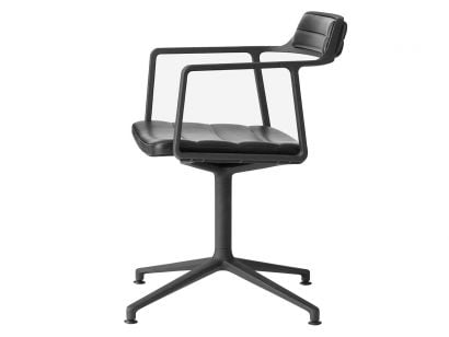 Vipp452 Swivel Chair With Gliders