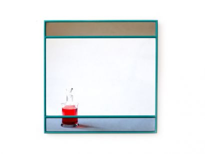 Vitrail Square Mirror