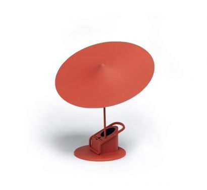 W153 Île Table Lamp - Red