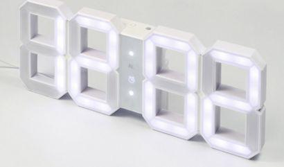W&W Clock digital LED Horloge