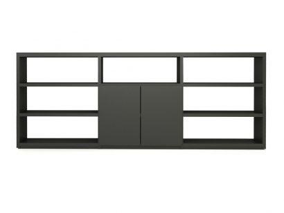 Wall System Composition de Bibliothèque - Carbone 91