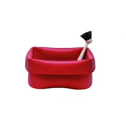 Washing-up Bowl and Brush