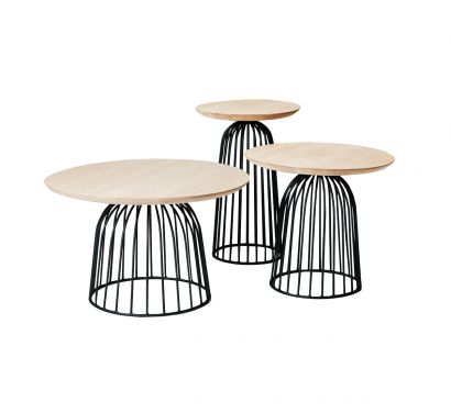 Wire Basket Tavolino
