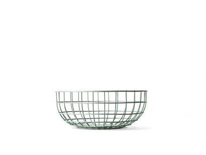Wire Bowl - Bol - Vert mousse