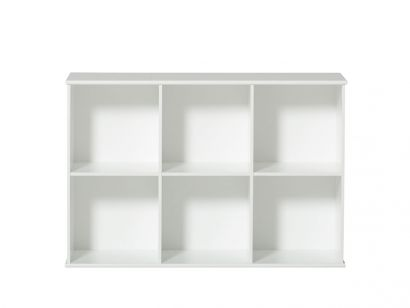Oliver Furniture - Wood Shelving Unit 3×2 with Support