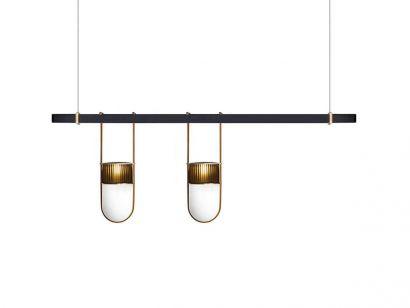 Xi Composition F Lampe à Suspension - Amber - Camello