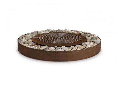 zen firepit wood