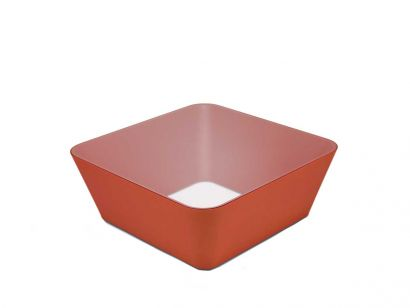 Zero-In Coffee Table - Cinnabar Orange