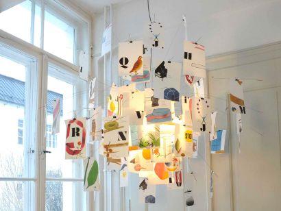 Zettel'z 5 Munari Lampe de Suspension