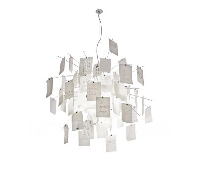 Zettel'z 5 Suspension Lamp Ingo Maurer