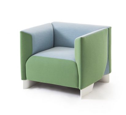 131 ZH One Armchair-Ice
