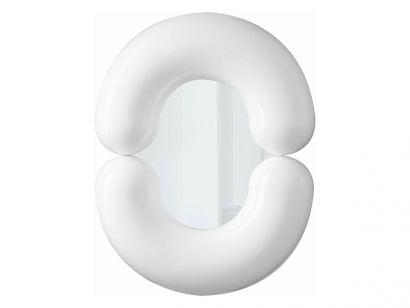 Zodiac Specchio - Bianco 55x70 cm