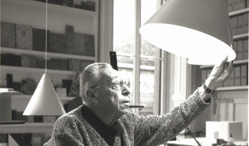 How an icon is born: the Diabolo lamp by Achille Castiglioni for Flos