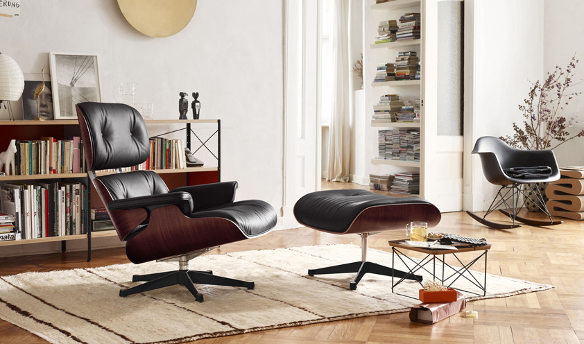 How an icon is born: Eames Lounge Chair and Ottoman by Charles and Ray Eames for Vitra