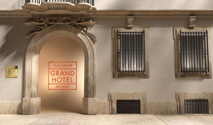 Mohd in partnership with Elle Decor Italia for the Grand Hotel project