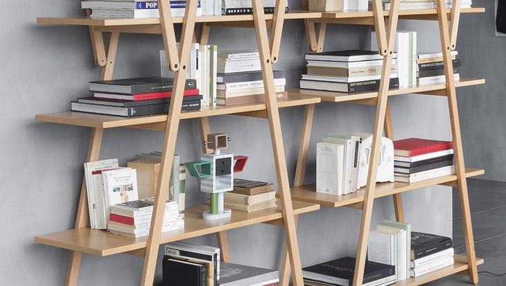 How an icon is born: Cassina's Infinito and Nuvola Rossa bookcases