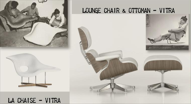 Design magazine una firma del design ray charles eames shop online per l 39 arredamento moderno - Poltrone design famose ...