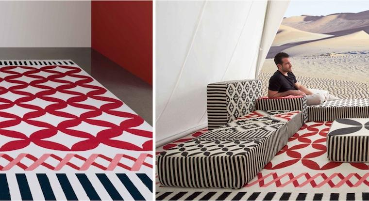 Design Magazine GAN Rugs Tappeti Coloratissimi E Di