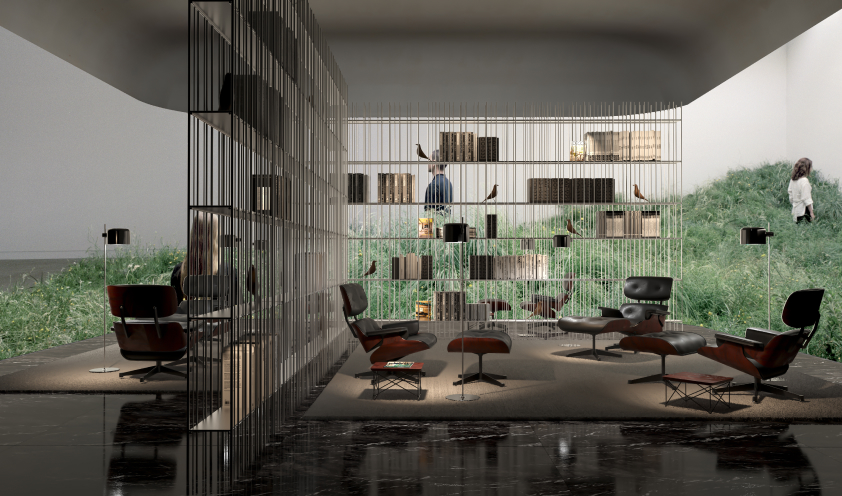 Reading Lounge Elle Decor Grand Hotel 2020