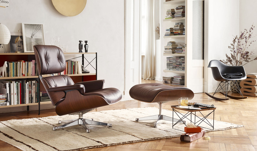 Eames Lounge Chair by Charles and Ray Eames for Vitra